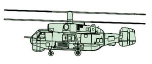 04202 1/200 カモフ Ka-27 ヘリックスA ¥1,500(税抜価格)