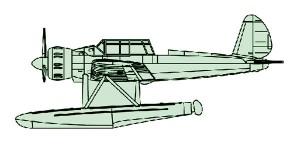 04203 1/200 ドイツ海軍艦載機 Ar196 ¥1,500(税抜価格)