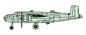 04204 1/200 B-25B ミッチェル ¥1,500(税抜価格)