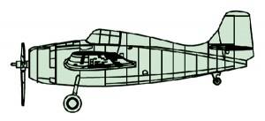 04205 1/200 グラマン F4F-4 ワイルドキャット ¥1,500(税抜価格)