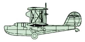 04208 1/200 イギリス海軍艦載機 ウォーラス ¥1,500(税抜価格)