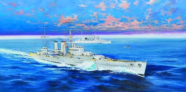 05350 1/350 イギリス海軍 重巡洋艦 HMS エクセター ¥9,800(税抜価格)