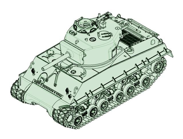 07168 1/72 M4A3E8 シャーマン 105mm ¥2,400(税抜価格)