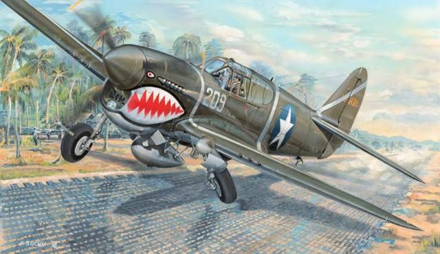 03227 P-40F Warhawk