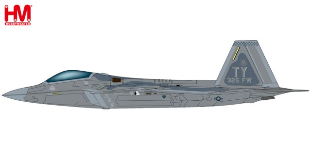 "HA2820 1/72 F-22 ラプター ""第325戦闘航空群 2008"" ¥12,800(税抜価格)"
