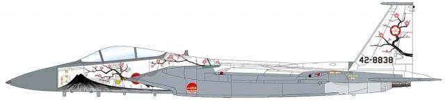 "HA4514 1/72 航空自衛隊 F-15J イーグル ""第305飛行隊 50周年記念塗装"" ¥12,800(税抜価格)"